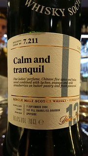 SMWS 7.211 - Calm and tranquil