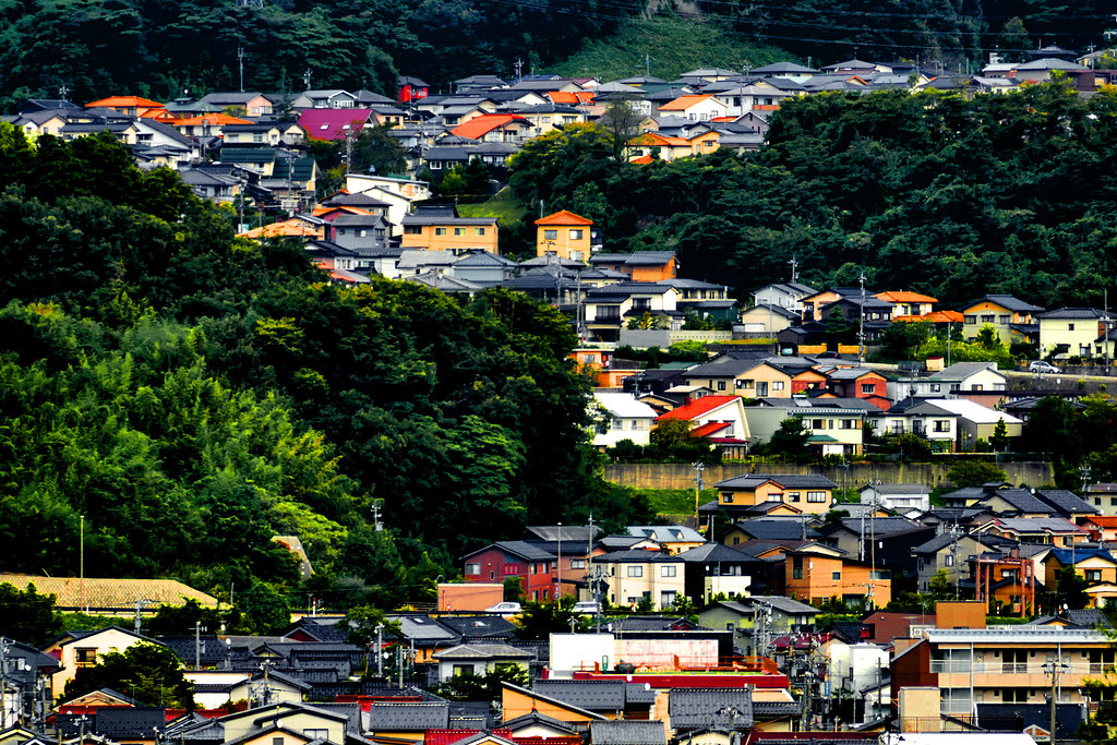 Kanazawa from the Kenroku-en Garden 121b