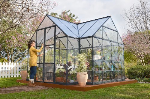 Palram Four Season Chalet Hobby Greenhouse – 12 x 8 x 9 Ch