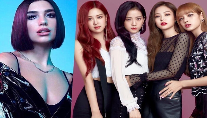 Será o Feat do ano? Dua Lipa lança música com as meninas do BLACKPINK