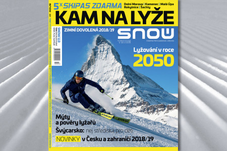 Tradiční lyžařský cestovatelský speciál je tady. Vedle mnoha stran zimní inspirace přináší výčty novinek a tipů, letos malinko více zaměřených na rodiny a děti. Dozvíte se aktuální pohyby cen skipasů, nejvýznamnější n...
