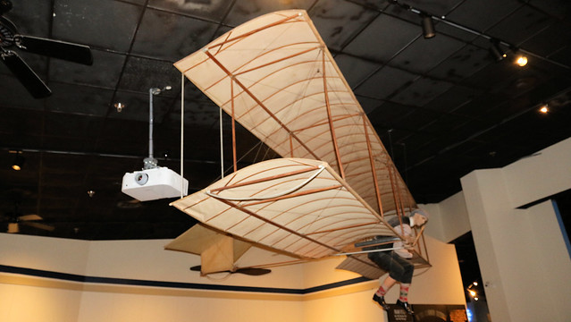 Chanute 1896 Glider Replica