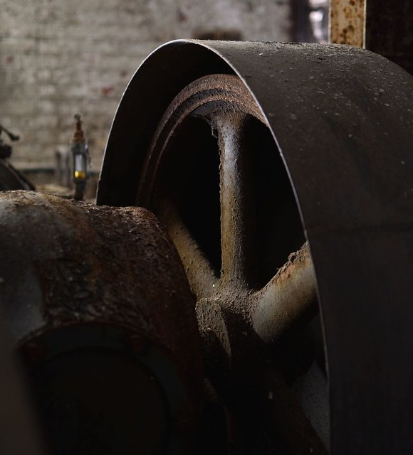 compressor with oil gauge