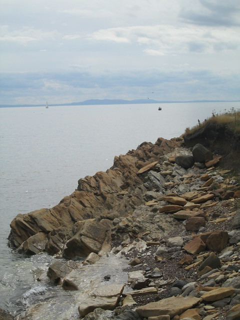 Rocks  + Yacht