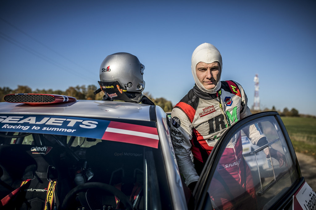 FURUSETH Sindre, (NOR), Opel Adam R2,Portrait during the 2018 European Rally Championship ERC Liepaja rally,  from october 12 to 14, at Liepaja, Lettonie - Photo Gregory Lenormand / DPPI