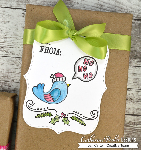 Jen Carter Make Own Tags Kits Bird Ho Ho