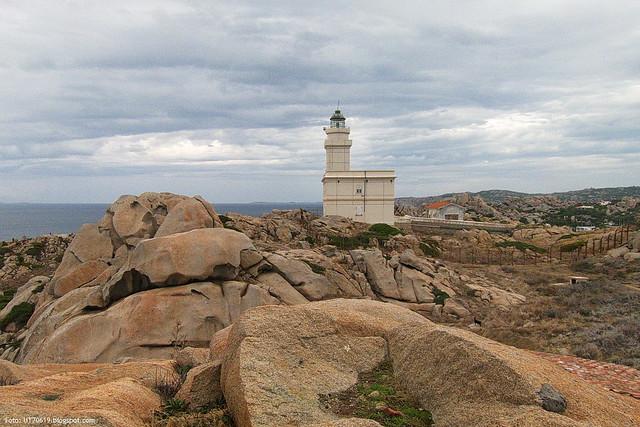 Leuchtturm Capo Testa
