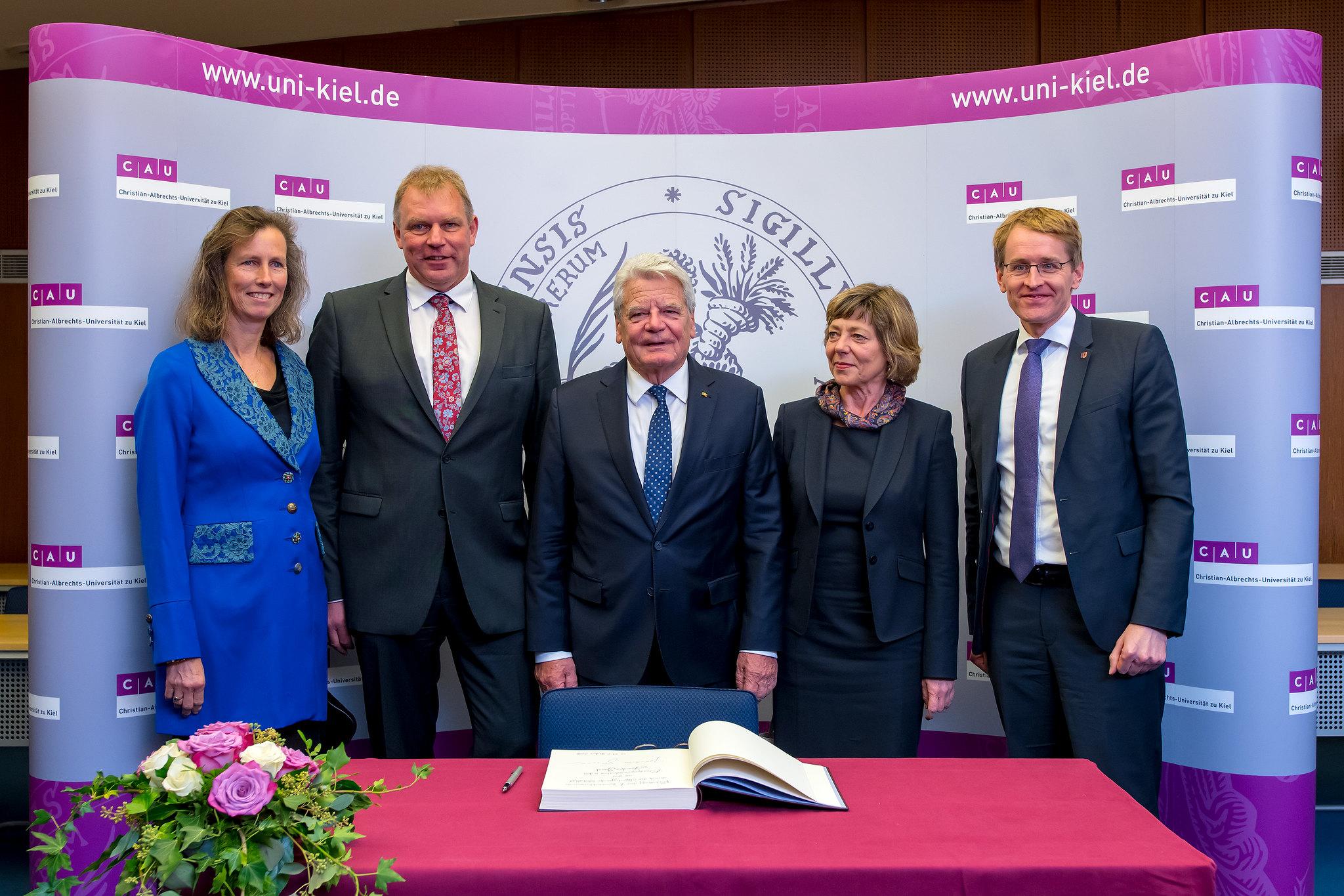 Ehrendoktorwürde für Joachim Gauck