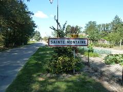 Sainte Montaine Eté2016 city limit sur la D79