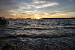 Sunset down at the boat launch... - Wellesley Island State Park, New York