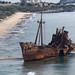 Dimitrios Shipwreck by Aerial Photography