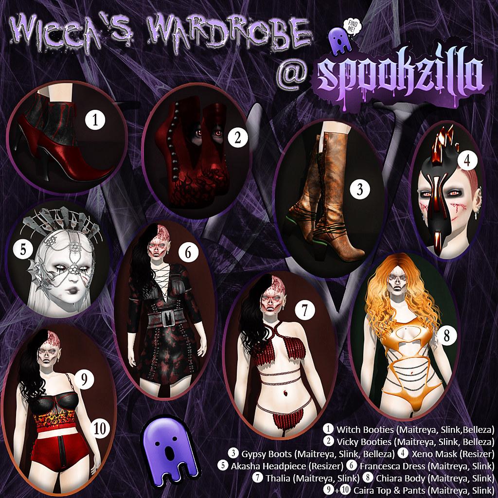 Wicca's Wardrobe @ Spookzilla 2018 - TeleportHub.com Live!