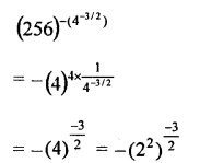 RD Sharma Class 9 Chapter 2 Exponents of Real Numbers
