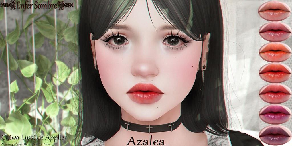 Azalea lipstick set @SaNaRae - September 26 - TeleportHub.com Live!