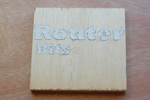 Router Bits Box Negative Mask