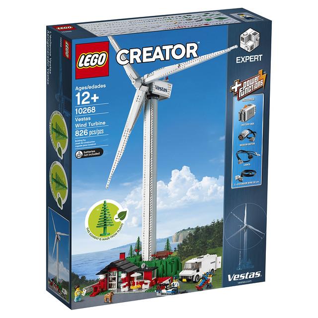 LEGO Creator 10268 Vestas Wind Turbine 1
