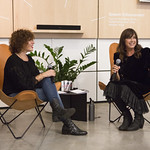 Tue, 02/10/2018 - 7:58am - Cat Power (Chan Marshall) in conversation with FUV's Carmel Holt, at the Sonos Listening Room in Soho. Photo by Gus Philippas/WFUV