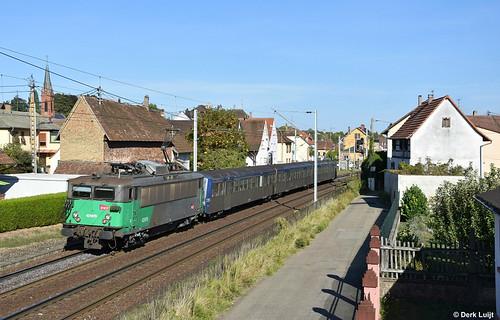 SNCF BB25615 + RRR 235, Hochfelden, 11-9-2018 16:54