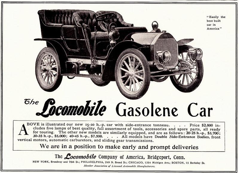 1905 Locomobile Touring