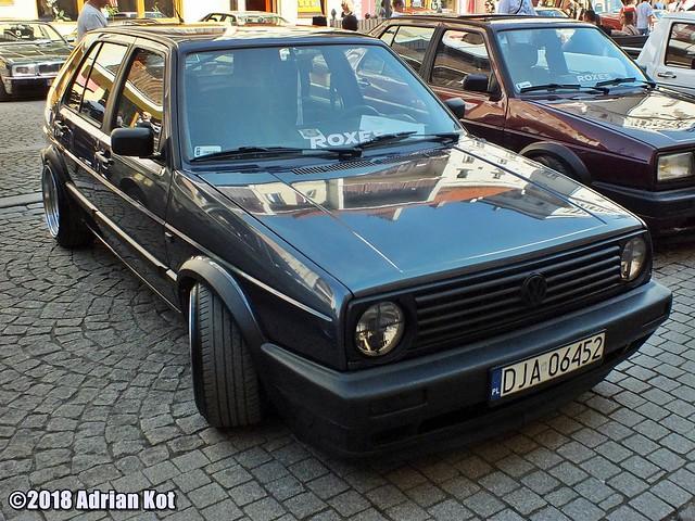 Volkswagen Golf mk2, Fujifilm FinePix HS35EXR