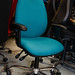 E160 office chair with arms