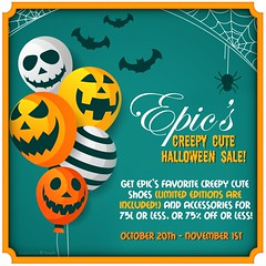 *Epic* Creepy Cute Halloween Sale 2018! {Poster} Ad