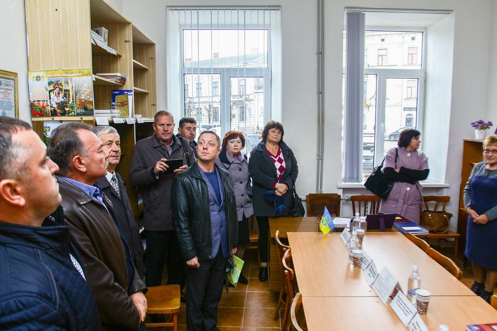 Засідання обласного методичного об'єднання викладачів суспільних дисциплін | 23.10.2018