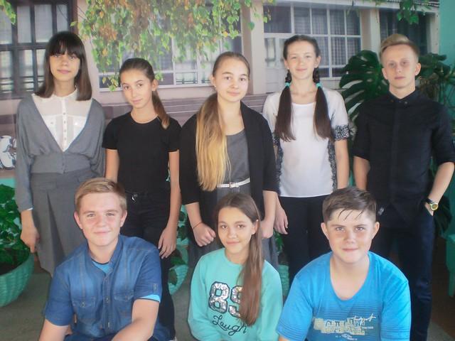 Робота шкільної Ради лідерів дитячого об'єднання «Дивосвіт» (14.09.18)
