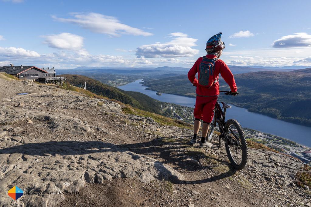 Jesper's favourite view of Åre