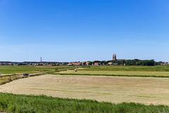 Blick auf Hollum, Ameland