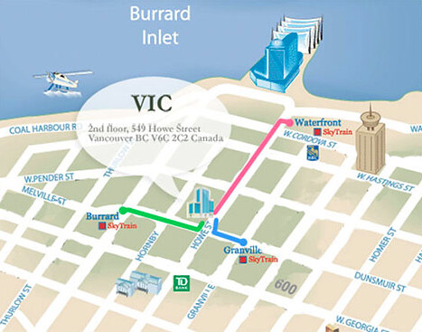 vic location map