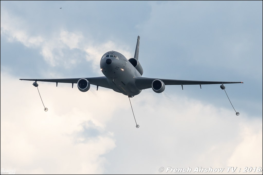 AFRC 70th Anniversary KC-10 USAF EAA Oshkosh 2018