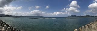 長門市からの日本海