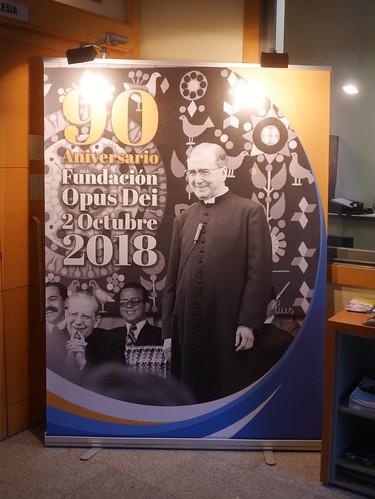 Celebración 90 aniversario Fundación Opus Dei. 30 Sept. 2018