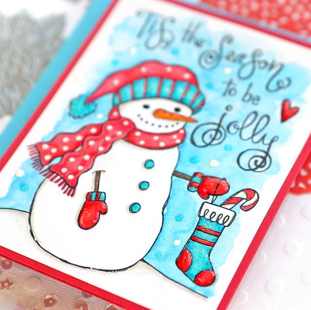 snowman 3 close up
