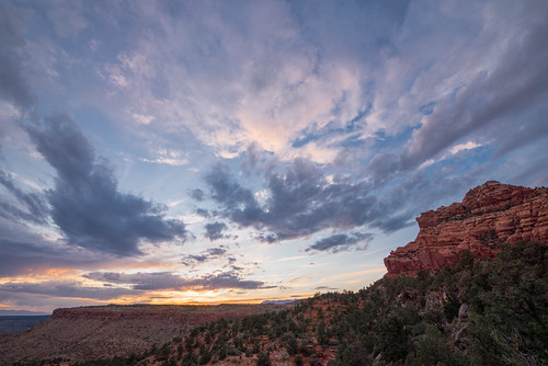 Kolob Terrace Sunset