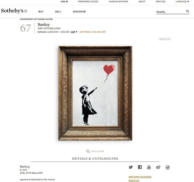 tn_Sothebys 5th Oct 2018 Banksy Girl With Balloon crop