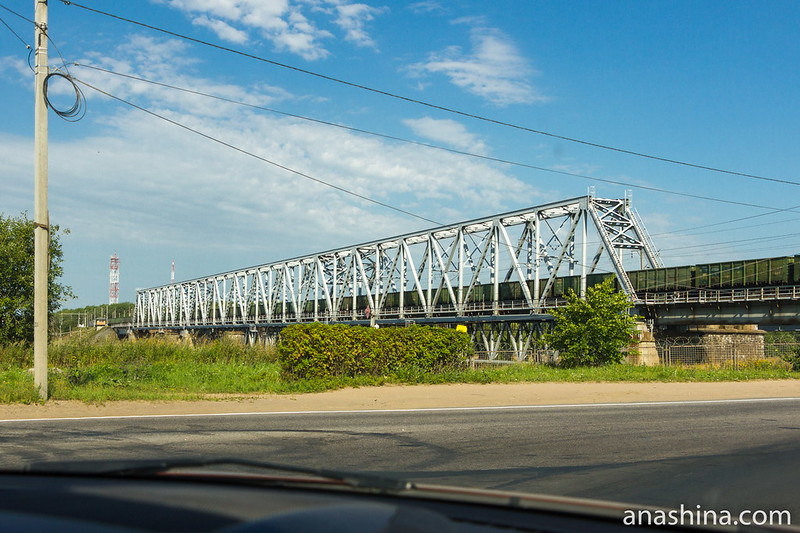 Железнодорожный мост через Волхов