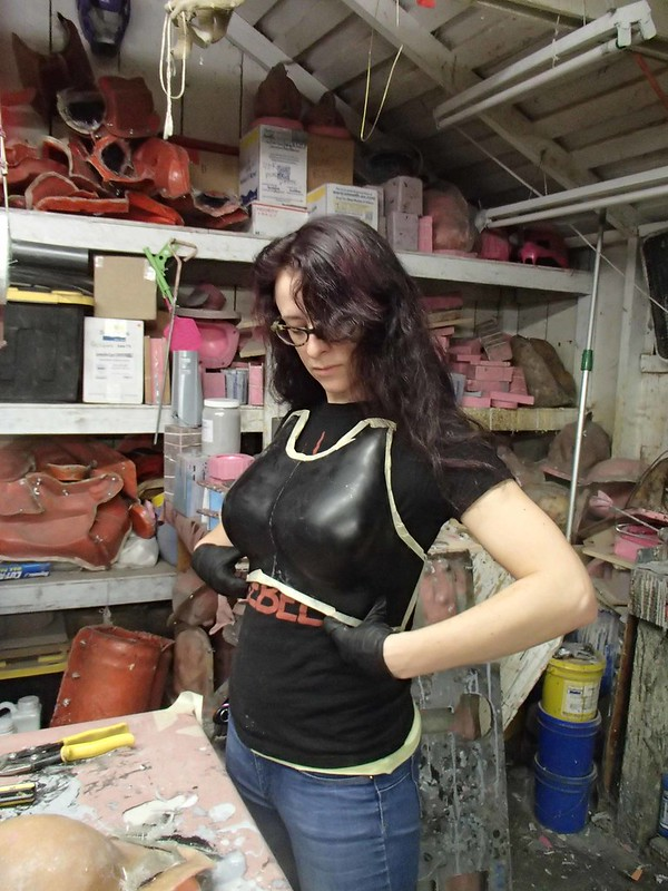 Cobra Baroness Boob Armor Test Fit 1