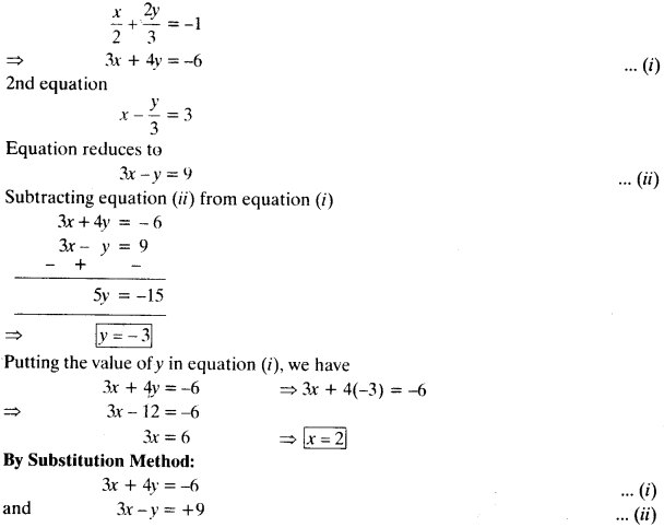 NCERT Solutions for Class 10 Maths Chapter 3 Pair of Linear Equations in Two Variables 42
