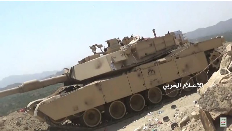Houthi rebels destroy M1 Abrams tank in Jizan