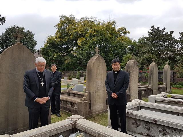 Voyage Mgr Ravel en Corée du Sud