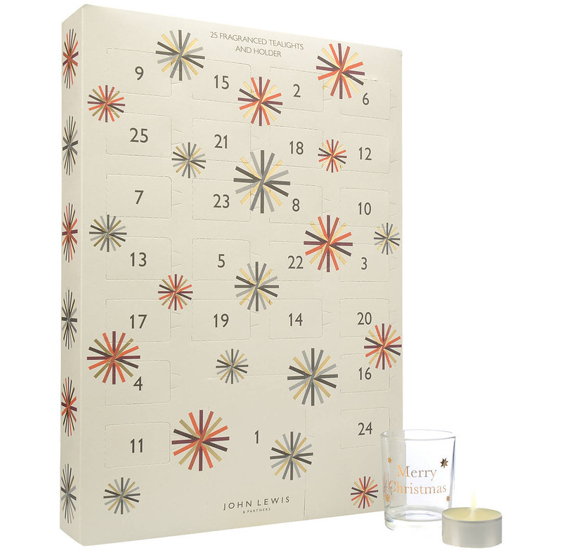John Lewis Tealight Advent Calendar