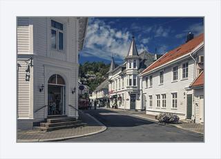 A lovely street in Flekkefjord