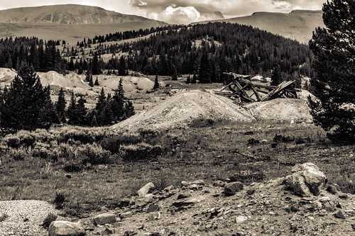 places types bw colorpostprocessing hdr colorado leadville