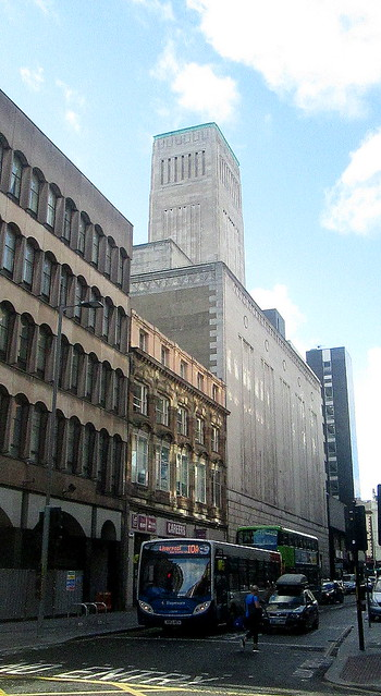 Art Deco Tower, North John Street, Liverpool