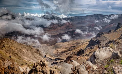 kula hawaii unitedstates us maui volcano haleakalā crater nationalpark usa panorama landscape nature mountain eastmauivolcano