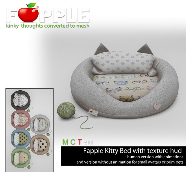 Fapple – Kitty Bed