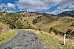 Lookout at Mount Gipps road