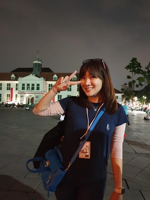 Hasil foto malam hari Galaxy Note 9 (Liputan6.com/ Agustin Setyo W)